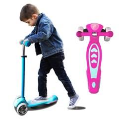 아동용 유아킥보드 안전한 어린이 LED킥보드 컬러 페인팅 씽씽이