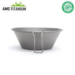 에이엠지티타늄 티탄 고정형 시에라컵 150ML(샌딩)S