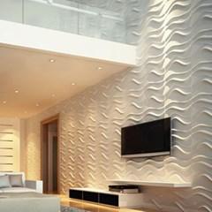 입체 벽장식 3D PVC 보드 패널 Morden Wave