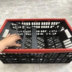 2초 접이식 바스켓 폴딩 수납 바구니 트렁크 정리함