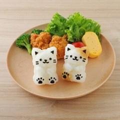고양이 냥냥IM 주먹밥 만들기세트(펀치 포함)