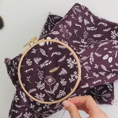 [Fabric] 시크릿 가든 패턴 코튼