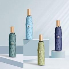 피넛 경량 3단 휴대용 가벼운 접이식 수동 우산 우양산