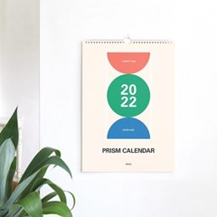 2022 프리즘 벽걸이 달력 M (A3)