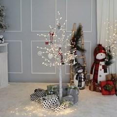 크리스마스트리 오너먼트 클리어볼 요정레드 장식세트