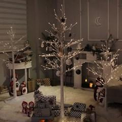 크리스마스 오너먼트 디자인볼 블루그레이 장식세트