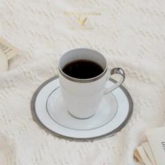 독일 명품 순금 커피잔세트 팔켄 포제란(골드/플래티늄)