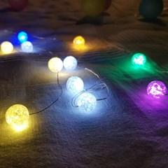 인테리어 조명 LED 전구 캔디 와이어 20구 건전지형