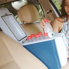 7.5L 대용량 차량용 이동식 냉온장고 아이스박스 캠핑쿨러