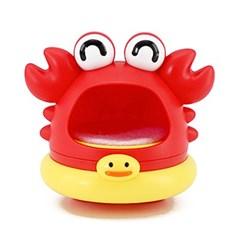 목욕 거품 놀이 KC인증 유아 아기 버블 장난감 (꽃게)