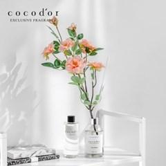 코코도르 디퓨저 화이트라벨 200ml X2+리필액 200ml+월계꽃 조화 2P