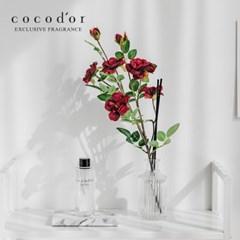 코코도르 디퓨저 화이트라벨 200ml + 리필액 200ml + 월계꽃 조화 1P