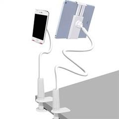 침대 핸드폰 휴대폰 태블릿 자바라 거치대