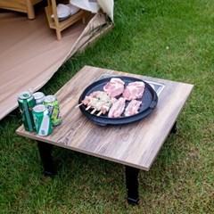 트리빔하우스 600 접이식 불판 테이블_TB20O74