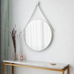 마벨 원형 스트랩 욕실 인테리어 벽거울