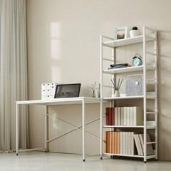 [모던하우스] ON 위켄 베이직 1200책상,1500책장세트 화이트