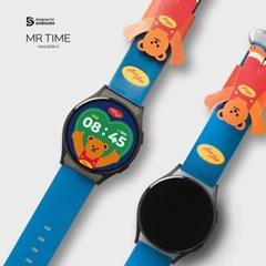 [10월18일발송] 위글위글 콜라보 스마트 시계줄 Bear 갤럭시워치 4