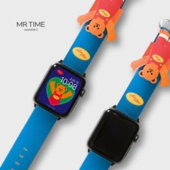 [10월18일발송] 위글위글 콜라보 스마트 시계줄 Bear