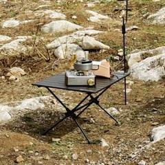 고급형 알루미늄 휴대용 아웃도어 접이식 2단 테이블