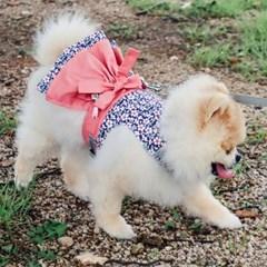 꽃분이 분홍, 철릭 한복 강아지하네스