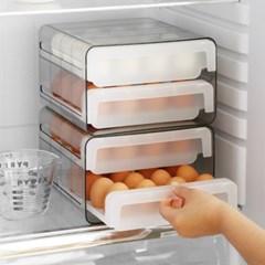 에그쏙 2단 계란 트레이 보관용기(32구)