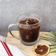 다이아글라스 에바 커피 머그 430ml 유리컵 6P 세트