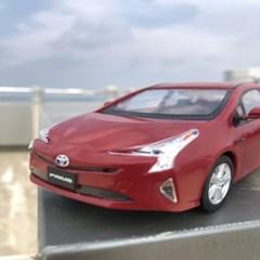 솔라턴테이블 프리우스 Red PRIUS 하이브리드 자동차
