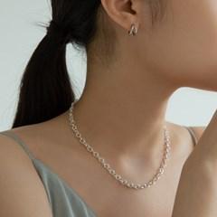 투웨이 원터치 귀걸이 (925실버) SUM13