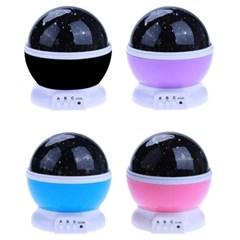 마일드 360도 회전 LED 스타마스터 별자리 무드등 별조명