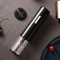 원터치 LED 전동 와인 오프너 코르크 따개 KB801