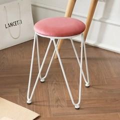 리코 인테리어 디자인 스툴 의자 (착불)