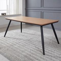 쿠니 무늬목 식탁 테이블 1600 (착불)