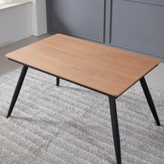 쿠니 무늬목 식탁 테이블 1200 (착불)