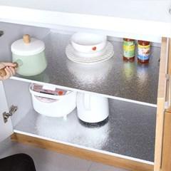 주방 기름때, 음식물 튐 방지 대형 은박 시트지 (60cmx3M)