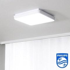 필립스 램프옴 라르고 프리미엄 LED 방등 A형 500*500 2년 무상 A/S
