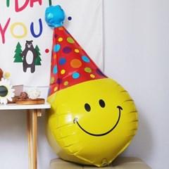 파티햇 생일 주인공 스마일 생일 파티 풍선