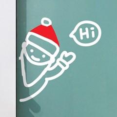 구석구석 산타와 눈사람 크리스마스 스티커