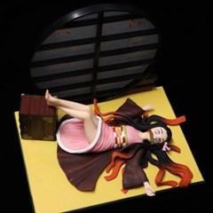귀멸의칼날 캐릭터 피규어 누워있는 카마도 네즈코