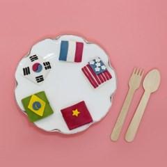 국기 모양 송편 만들기 대용량 반달떡 DIY 키트