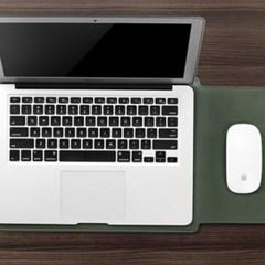 가죽 노트북 방수 파우치 마우스패드 활용가능