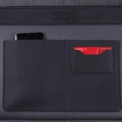 헤이플 비건레더클러치 vegan leather clutch (black- A타입)
