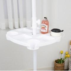 파라솔 트레이 홈캠핑 테이블 컵홀더 감성캠핑용품