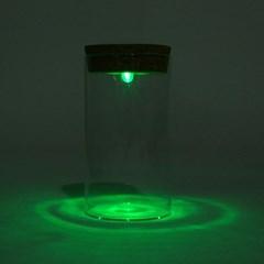 마리모 키우기 LED 유리병(6.5x12.5cm)