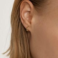 체인 원터치 귀걸이 (14K골드) #P22