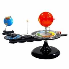 움직이는 태양-지구-달 태양계 천체 궤도 모형 인테리어소품