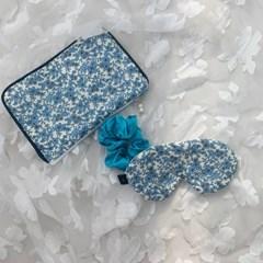 blue marie set sleep mask