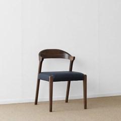 [헤리티지월넛] AJ형 의자 네이비