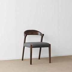 [헤리티지월넛] AJ형 의자 그레이