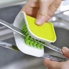 주방 악어 브러쉬 청소 설거지 세척솔
