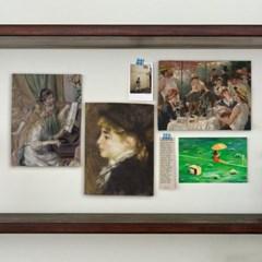 미니 포스터 / 패브릭 포스터_Auguste Renoir/르누아르 A (4종세트)